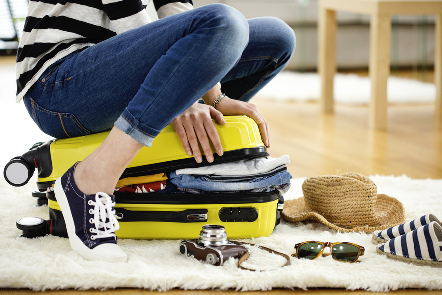 How to Pack a Suitcase & Maximise Space